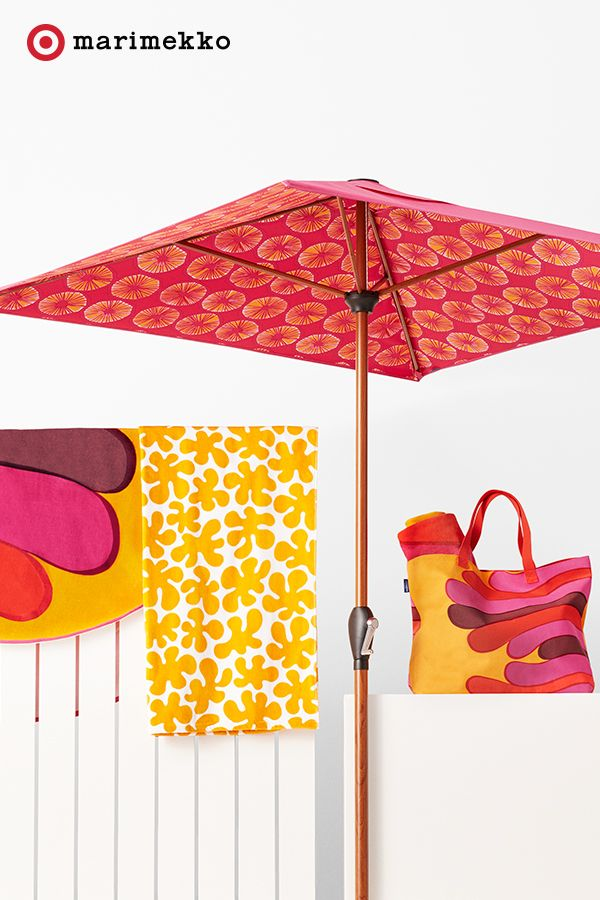 Pull off patio perfection with the Marimekko for Target collection. Pop up  this Umbrella in - 36 Best Images About Marimekko For Target On Pinterest Water