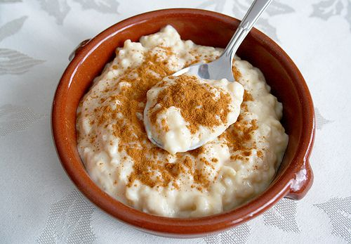 Arroz con Leche... perfect dessert for our Spanish Christmas Eve meal!