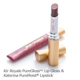 Fall trend: Use rich color on lips, layering to add depth and dimension. Kir Royale PureGloss and Katerina Lip Stick. janeiredale.com