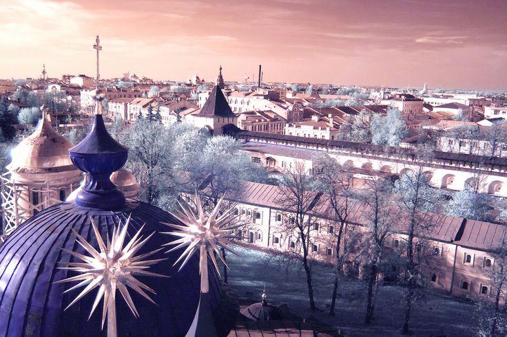 The city of Yaroslavl, Russia  via