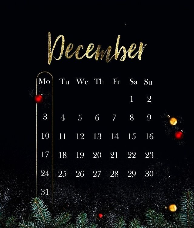 Welcome December!This is my idea for December calendarHope you guys