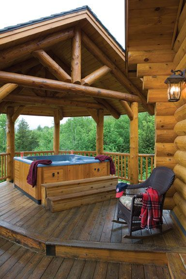 Outdoor Living – Log Cabin …