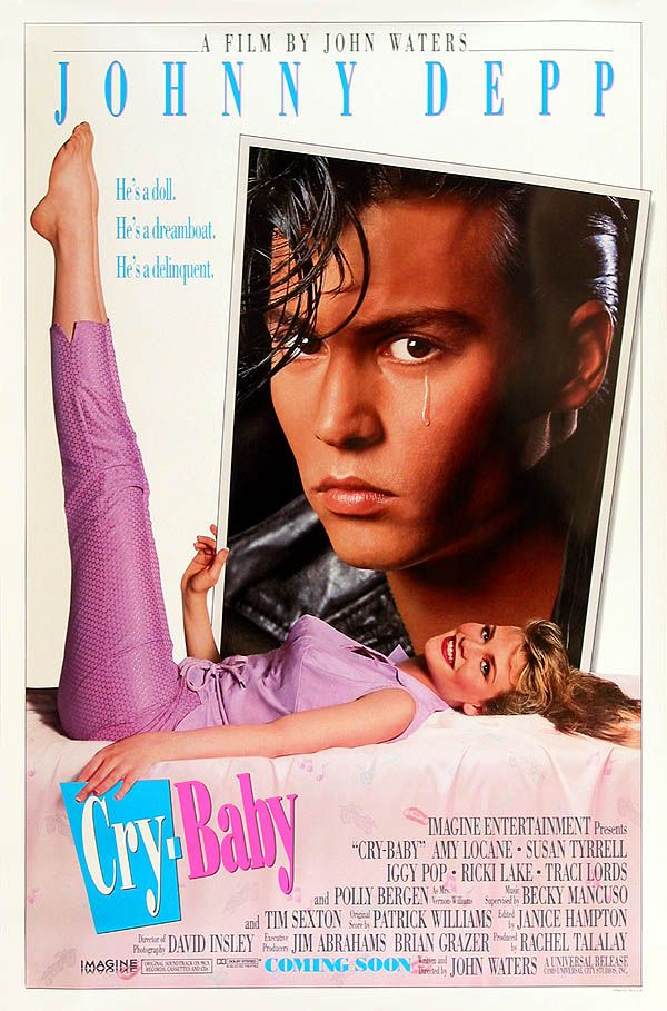 cry baby | Cry baby (1990) - Les affiches du film