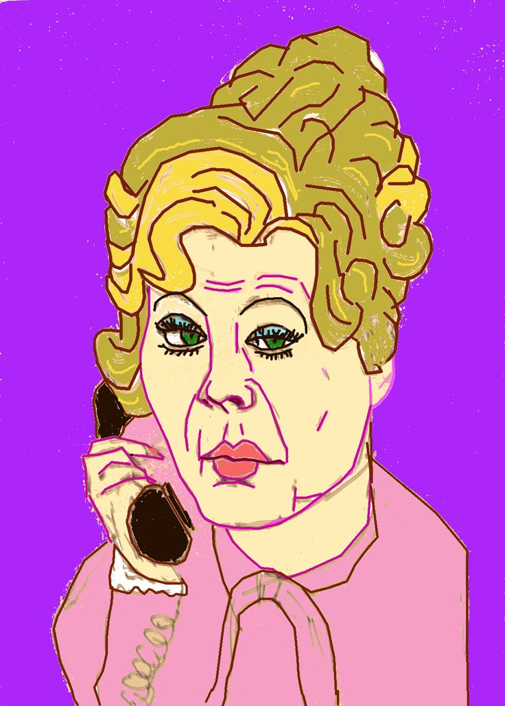 Sybil Fawlty - Caricature Portrait  mypetiteart@yahoo.com