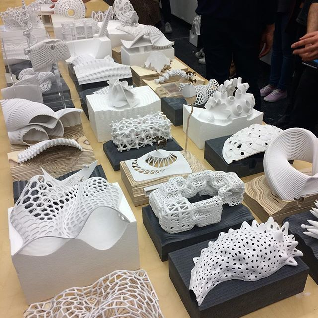 #3dprinting #grasshopper Daniels Faculty of Architecture, Landscape, and Design: @mnaparks