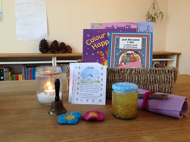 Relaxing Classroom Decor : Calming basket some ideas for peacetime