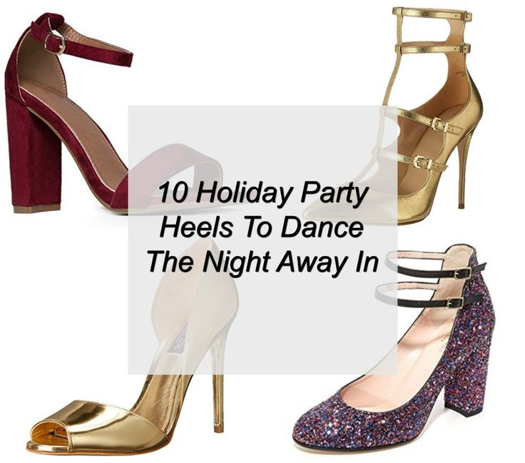 Holiday party heels up to size 12 http://stylishcurves.com/10-holiday-party-heels-dance-night-away/