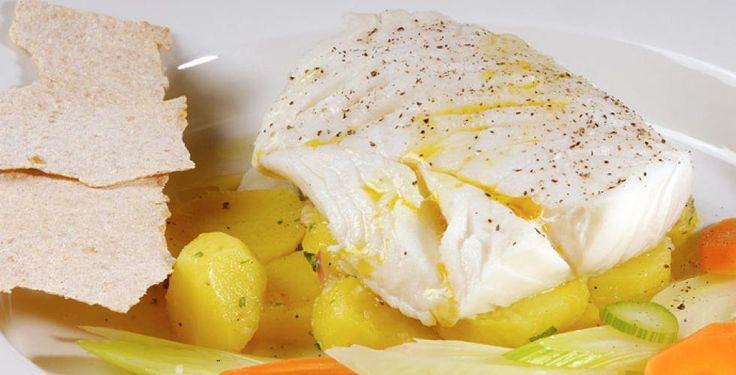 Lettsaltet torsk med marinerte poteter