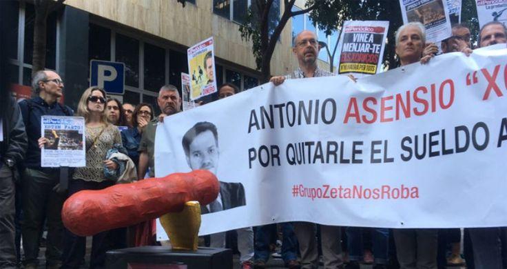 """El Periódico, Huelga, rebaja salarial, Éxito total de la huelga en """"El Periódico"""", Periodismo, trabajadoras"""