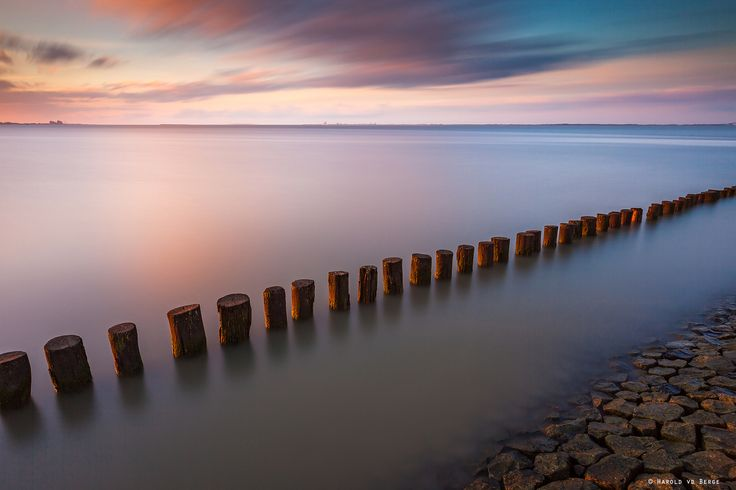 """In The Last Sunlight - After a busy period i finally had some time to go out with my camera. Take this yesterday at the """"Westerschelde"""" with the last rays of sunlight before he disappear behind the dike.  Lee ND 0.6 Hard Grad Lee Big Stopper"""