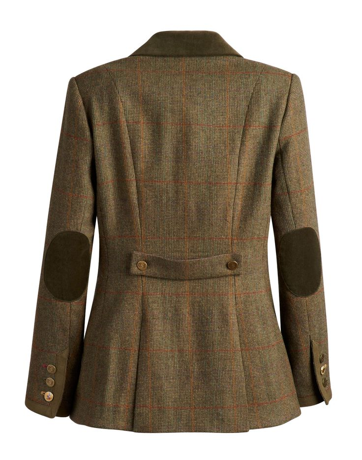 AUSTINE Womens Tweed Riding Jacket