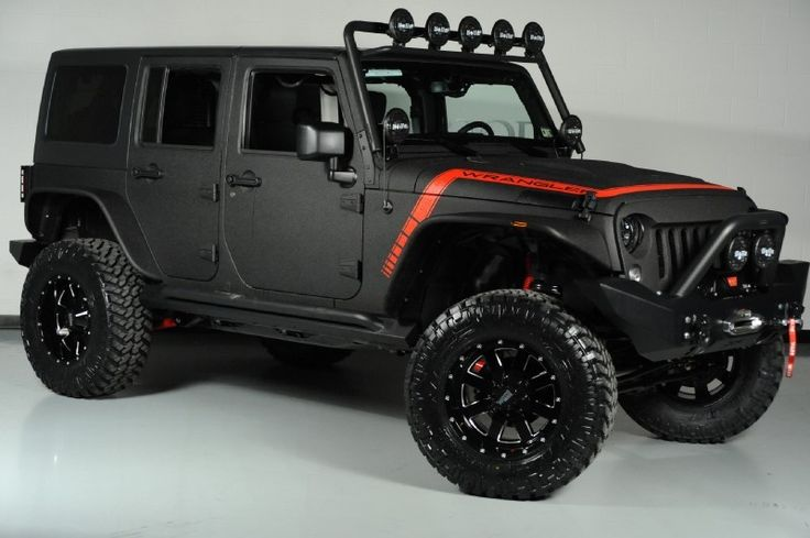 Rhino Lined Kevlar 2014 Jeep Wrangler Unlimited 24s Pkg We Finance In Dallas Texas Tacoma