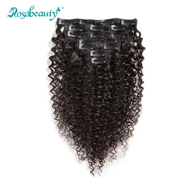 100G Clip In Hair Extensions kinky curly ★ Quality product and excellent customer service.★ Ships to more than 200 countries and regions, such as USA, UK, AUSTRALIA.