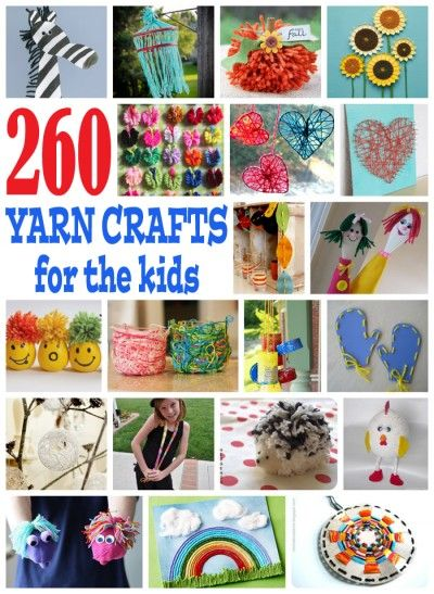 You don't have to know how to crochet or knit to make fun yarn crafts for kids. There are many...: