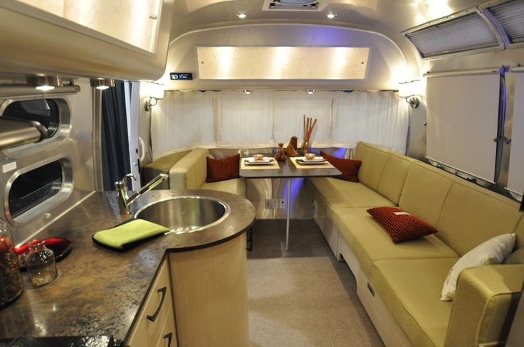 1000 Images About Airstream Interior Design On Pinterest