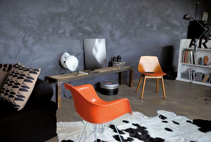 Best 25 peinture effet beton ideas on pinterest peinture beton cuisine sarcelle and armoires for Peinture effet beton castorama