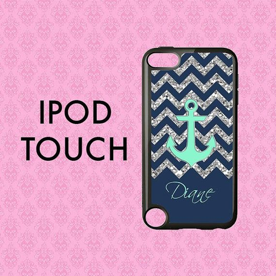 Monogram iPod 6 Case iPod Touch 5 Case iPod Touch 6 Case
