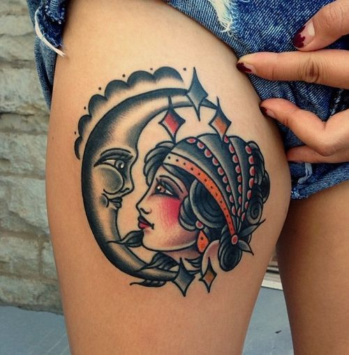 http://tattoomagz.com/tattoos-by-nick-oaks/pretty-moon-and-woman-tattoo-by-nick-oaks/