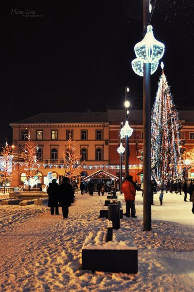 Christmas in Cluj-Napoca City, Romania
