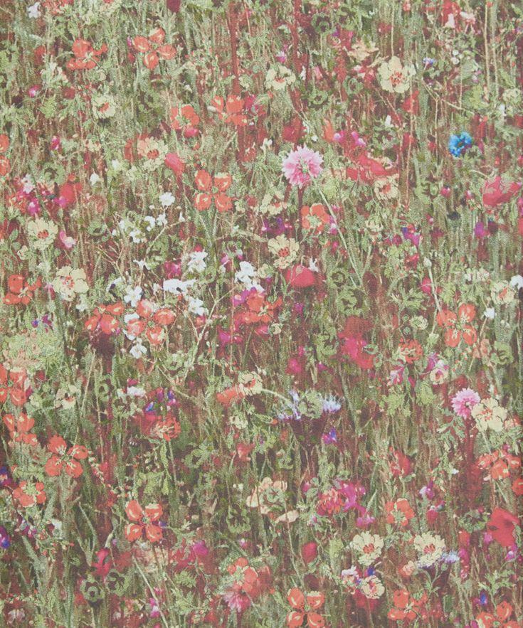 Liberty Art Fabrics Hedge Mawston Meadow Wallpaper   Home   Liberty.co.uk