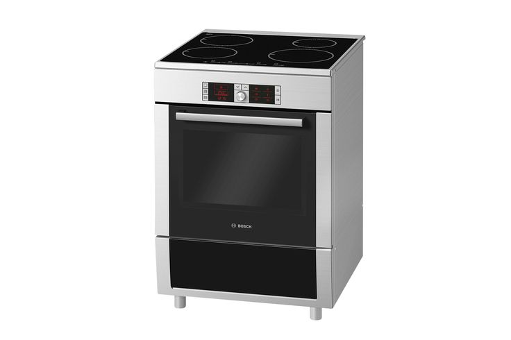 Bosch 60cm Freestanding Oven with Induction Cooktop