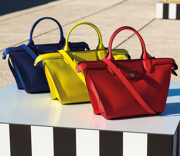 Longchamp Le Pliage Heritage Spring 2015 Ad Campaign
