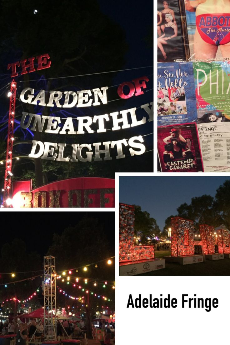 Garden Of Unearthly Delights? Adelaide