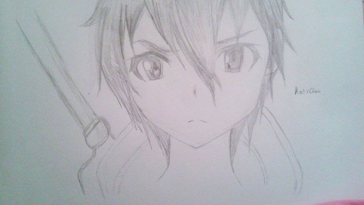 || Kirito || ||SAO|| I draw this one for my best friend Sara :D I hope all of you will like it but Sara.. YOU DON'T HAVE TO LIKE IT YOU HAVE TO LOVE IT XD :D