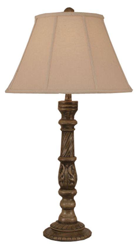 Vine & Twist Pot Table Lamp