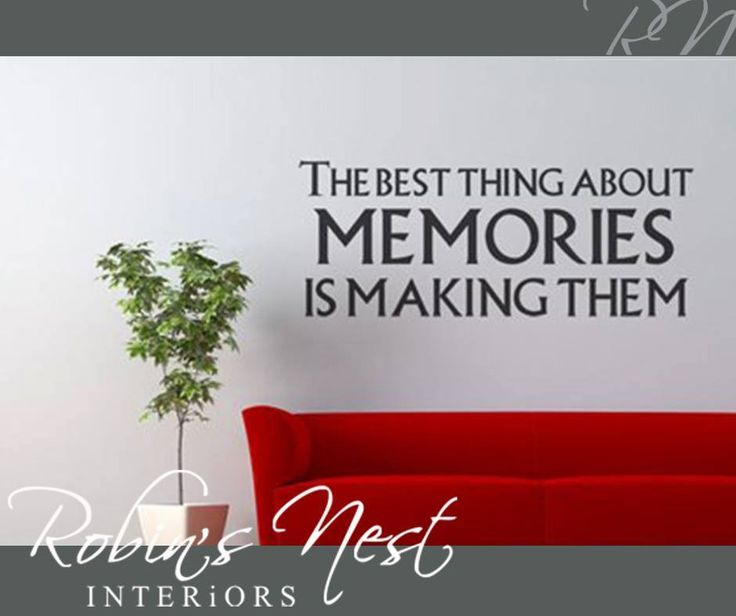 The best thing about memories is making them #RobinsNest #Sunday #motivation