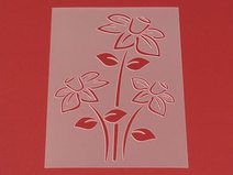 Schablone Blume Narzisse Blüte - MF43