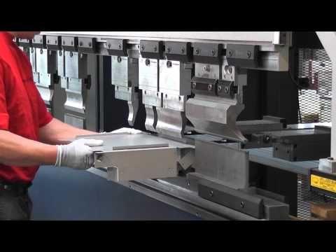 Gesenkbiegen - Gehäuse Fertigung - Abkanten von Blech - YouTube