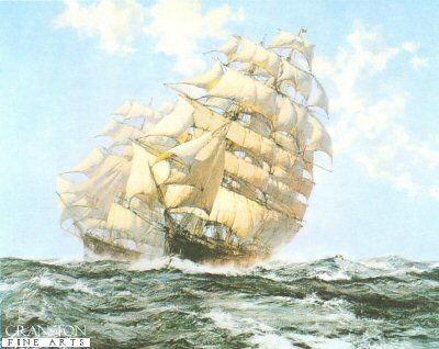Ariel and Taeping by Montague Dawson.