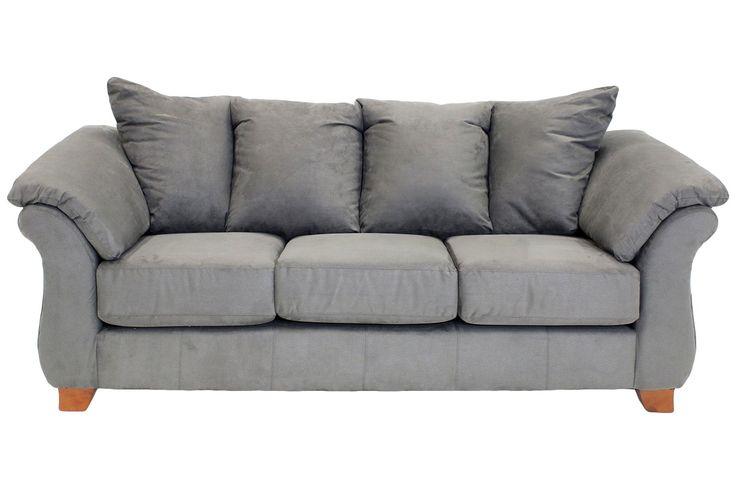 Shasta Charcoal Sofa Sofas Living Room Mor Furniture