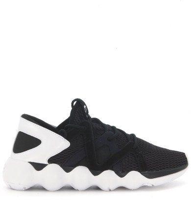 Y-3 Sneaker Y-3 Kyujo Low In Rete Nera. #y-3 #shoes #sneakers