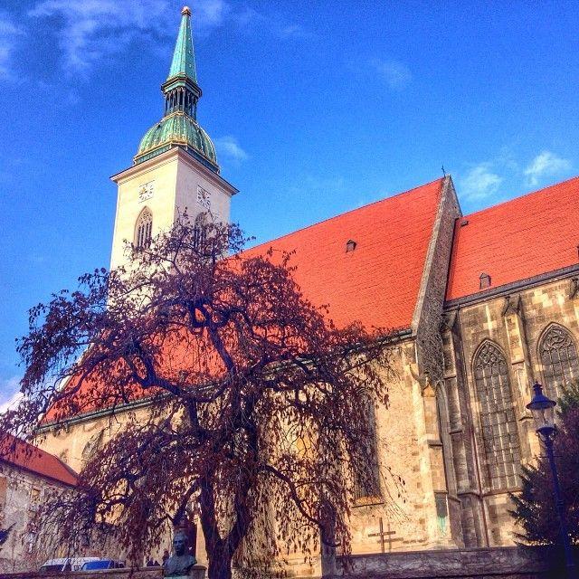 St.Martin´s cathedral #Bratislava #Slovakia