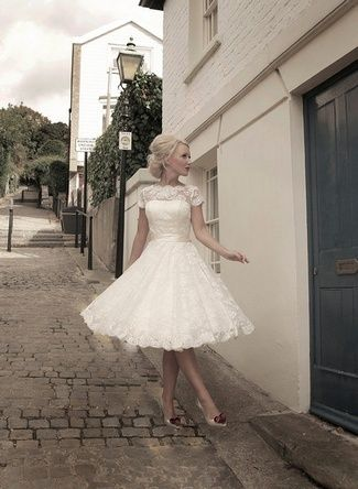 Love this style dress for my bridesmaids but not in white of course! :)
