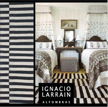 ¡Cuando las temperaturas comienzan a bajar en esta época del año, es hora de cambiar el estilo de tus espacios! Una de las tendencia son los tonos blancos y negros. ¡Ignacio Larraín Alfombras es el complemento perfecto para tu decoración.