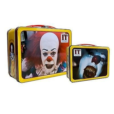 Tin Tote Lunchbox Pennywise Lunch Box Collectible Clown Stephen King It Movie