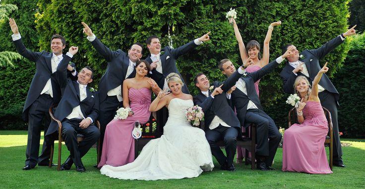 Bridesmaid and ushers
