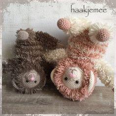 Furry friends haakpatroon - Haak je mee