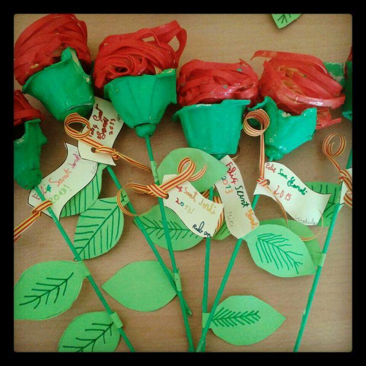 12 roses originals per celebrar Sant Jordi | Educació i les TIC