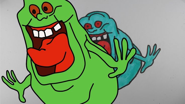 How to Draw Slimer from Ghostbusters – Mr. Cute Cartoon Drawing Club