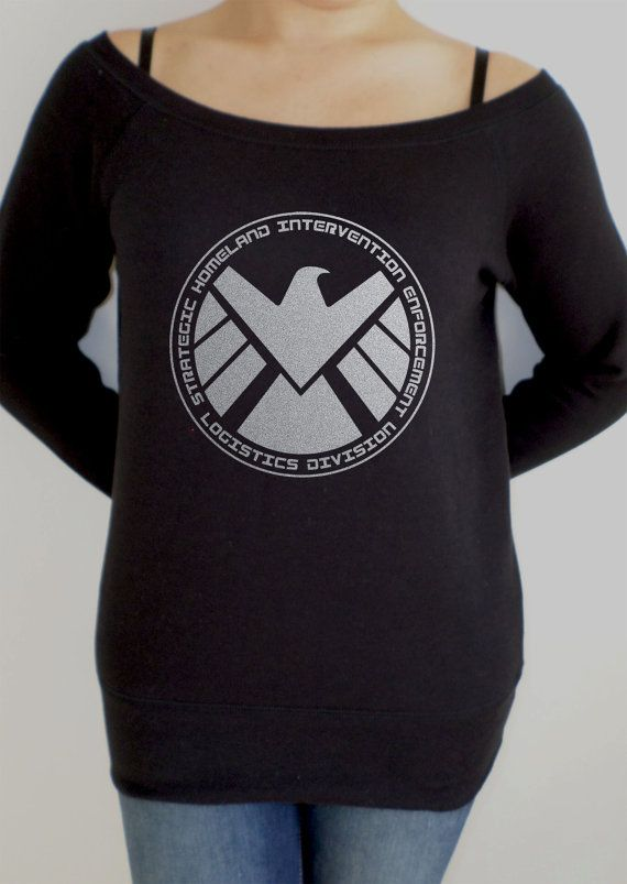 Agents of S.H.I.E.L.D women's slouch jumper