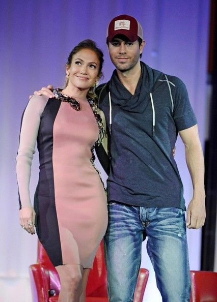 Jennifer Lopez & Enrique Iglesias Announce Tour Jennifer Lopez, Enrique Iglesias and Wisin Y Yandel Announce Summer Tour.April 30, 2012.