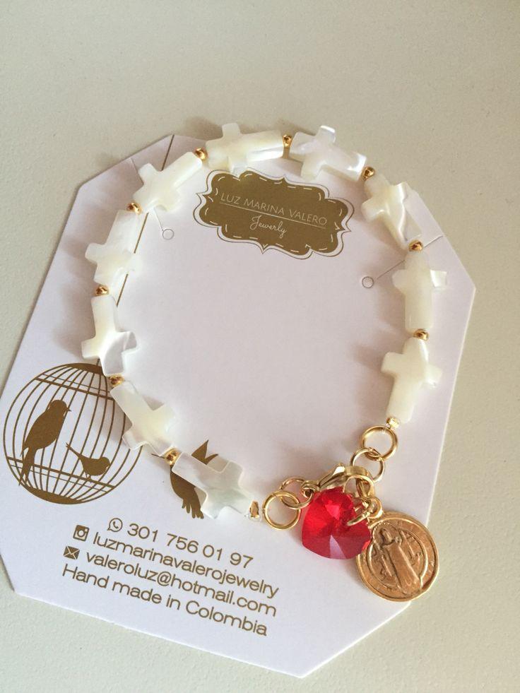 Pulsera de nácar by Luz Marina Valero Jewelry