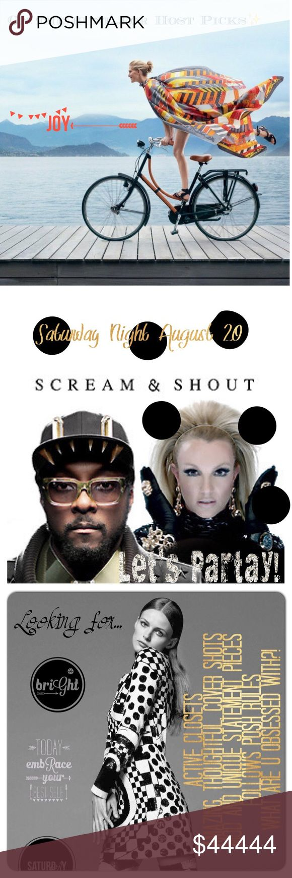 @PoshPaisleys is having a Party✨August 20 So excited to host another✨Theme TBD✨Tag your favorite Trendsetting, Loud, Unique, Must Have Obsessionsfor this fallta's tic party PoshPaisleys Other