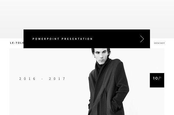The Fashion PowerPoint by BOXKAYU on @creativemarket Professional creative design Presentation Template Slides. Creative, modern, clean, minimalist, trendy, marketing Promotion Promo Posts for Business, Proposal, Marketing, Plan, Agency, Startups, Portfolio Design Layout.