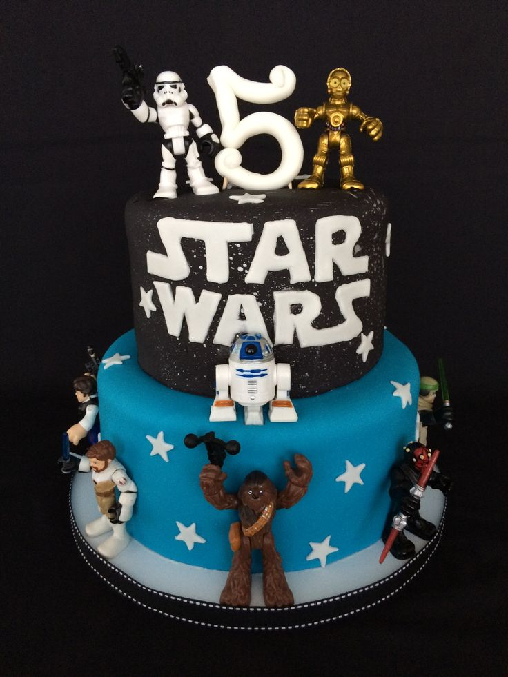 79 best star wars cake ideas images on pinterest star wars cake star wars party and - Star wars birthday cake decorations ...