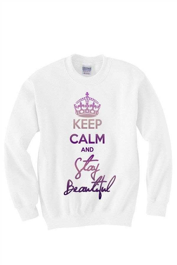 kennadeck's save of Keep Calm and Stay Beautiful on Wanelo